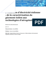 Art088 Beslin Guy Multon Bernard Production Electricite Eolienne Caractérisation Gisement Eolien Technologies Aerogenerateurs