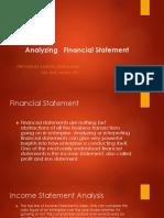 Analyzing Financial Statement New1