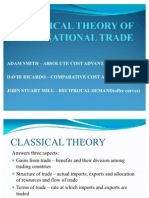 Classical Theory of International Trade Gipe 2