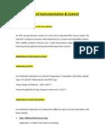 Basics of Instrumentation & Control.docx
