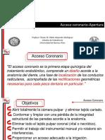 Acceso Coronario - Clase de Grado