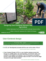 Designing User-Centered Decision Support Tools for Agriculture