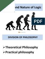 Nature of Logic