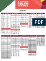 WORLD ATHLETICS CHAMPIONSHIPS 2019 Wc Timetable