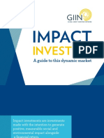 GIIN Impact Investing Guide