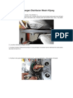 Langkah Pemasangan Distributor Mesin Kijang