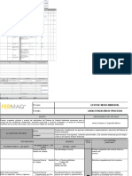 Caracterizacion de procesos internos ISO