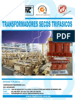 Catalogo de Transformadores Secos Trifasicos