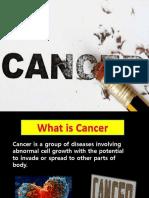 Presentation on Cancer
