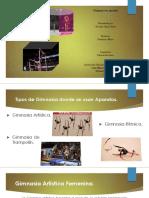 Presentacion Gimnasia Con Aparatos