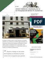 El Psicoanalista Entre Médicos Avatares de La Interconsulta en El Hospital de Niños R. Gutierrez Topía