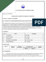 PCB Consent Renewal CertiFicate