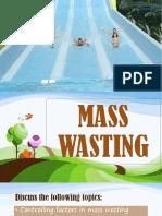 Mass Wasting Ppt