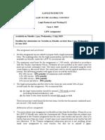 Legal research brief