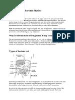 Types of Barium Studies