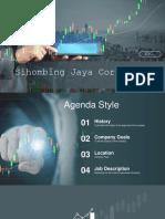 Economical Stock Market PowerPoint Templates