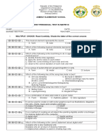 Mapeh-6 1st P-test Revised Edition 2019