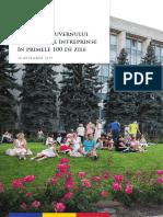Raport Guvern 100 Zile