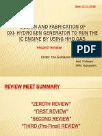 Oxy-Hydro Engine project by karthik