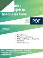 Metagame Presentation (Online Ojek Case)