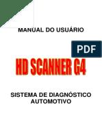 Manual Hd Scanner g4