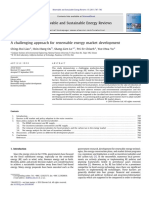A Challenging Approach for Renewable Energy 2011 Renewable and Sustainable E