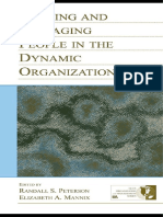 ORGANIZATIONAL BEHAVIOUR Leading and Managing People in the Dynamic Organization (1)
