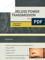 Wireless Power Transmission.sandeep