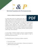 Normas Generales de Presentación de Manuscritos_c&p