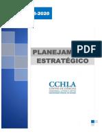 Planejamento Estrategico Do Cchla 2018 2020