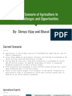 Current Scenario of Agriculture in India_Challenges and Opportunities
