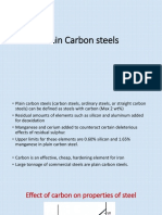 4.Plain Carbon Steels