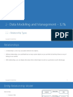2.2 Data Modeling and Management Relationship Types