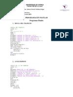 Programas en Matlab
