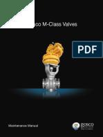 Gosco M-Class Valves
