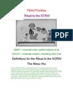 264156 Ritual to the NTRW2