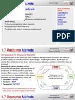 1.7 Resource Markets AP