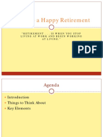 Guide to a Happy Retirement