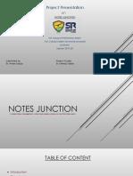 Notes Junction Presentation