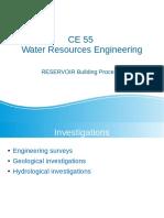 Reservoir Building Process