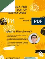 MICROFORMS.pptx
