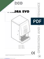 Phedra Evo MANUAL