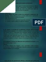 PUBLICACIONES DUPLICADAS AUTORIZADAS