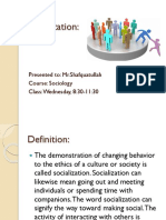Socialization Presentation