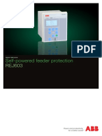 Self Powered feeder protection REJ603