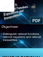 Rational Function, Equation and Inequalities