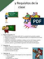 Reglas Del Salon de Clases(1)