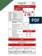 01999711 Sifón ''P'' plástico 1 ½'' ó 1 ¼'' cromado