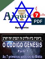 20 - o Código Gênesis - Parte 1
