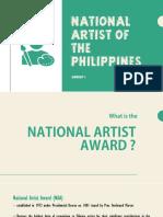 National Artist Award